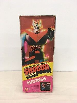 "Mattel Shogun Warrior 24"" Vintage 1970's MAZINGA with BOX"