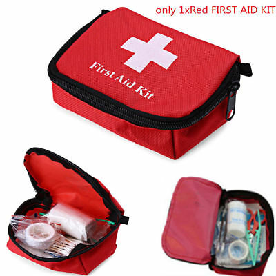 Outdoor Hiking Camping Survival Travel Emergency First Aid Kit Rescue Bag Set