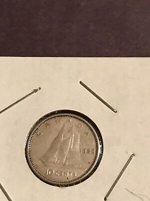 Canadian Silver Dime