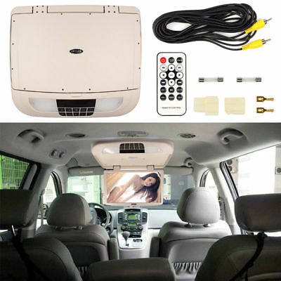 18.5Inch Car LCD Wide Screen Roof Mounted Video TFT Monitor w/o Player Flip Down