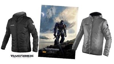 Reversible Jacket Transformers The Last Knight mens XL Autobots Decepticons