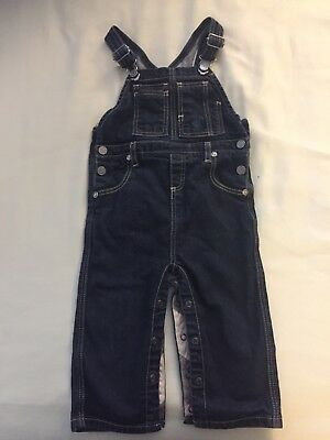 Burberry Children Dark Blue Denim Overall 18 Month