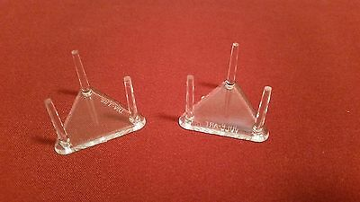 "100 Lg. Triangle 2.5"" Three Peg Display Stands For Christmas Ornament Ornaments"
