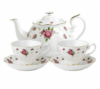 Royal Albert New Country Roses White Tea for Two