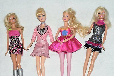 Barbie Dolls with clothes shoes bags and accessories etc lot