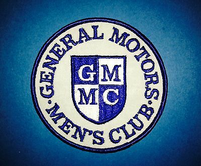 Rare Vintage 1970's General Motors Men's Club Car Hipster Jacket Patch Crest