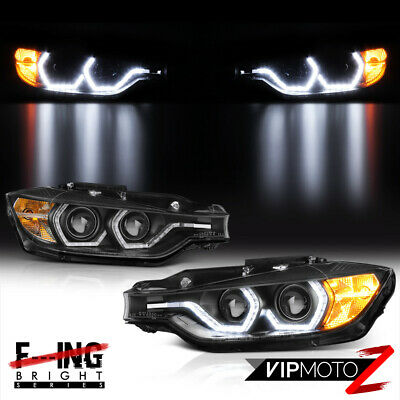 {LATEST F32 M3 STYLE} 2012-2015 BMW F30 Sedan 328i 335i Dual Projector Headlight