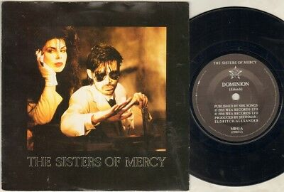 "SISTERS OF MERCY Dominion 7"" Ps, 3 Tracks Inc Untitled+Sandstorm, Mr43"
