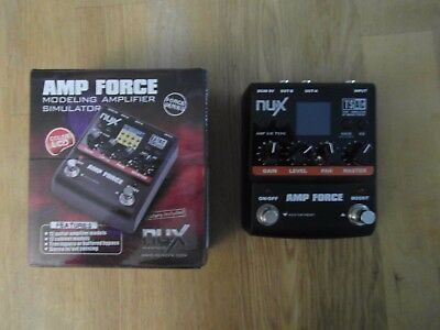 Nux Amp Fore Modeling Amplifier Simulator