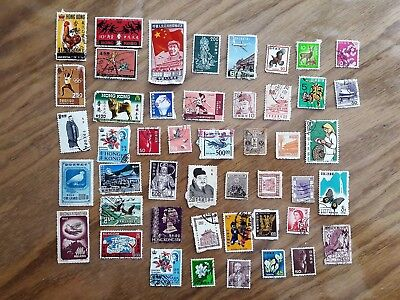 china stamp collection all the time