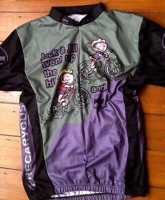 Mens Cycling Top Precaryous Brand Size L Never Worn