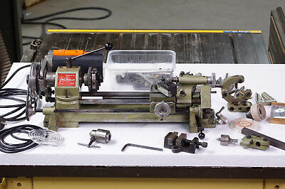 Unimat SL 1000 - automatic feed and lots of accessories - Vintage