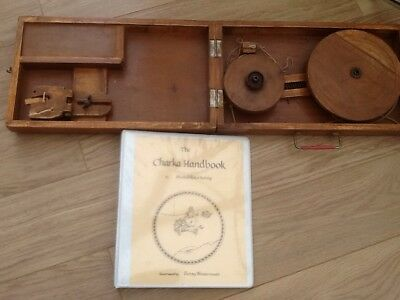 Vintage Charka  Spinning Wheel Spin Cotton Like Ghandi