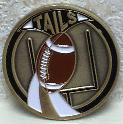 Football Edition Official Referee Flip Flipping Challenge Coin