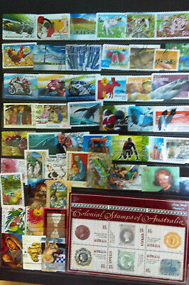 Modern Selection Of Australia Stamps With Mini Sheet From 1990