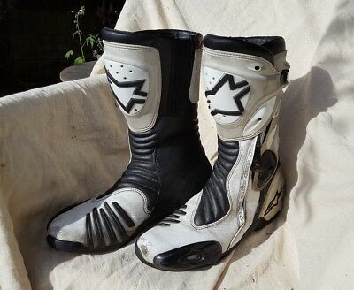Alpinestars motorcycle boots US 10.5 EUR 45 NO RESERVE!!!!
