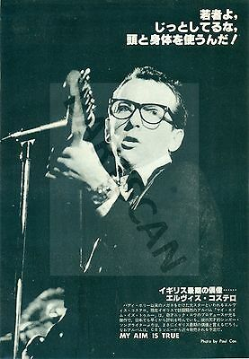 Elvis Costello - Clippings From Japanese Magazine Music Life 1978