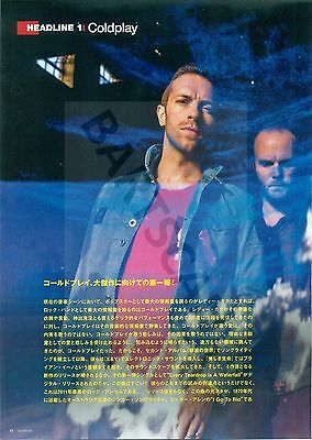 Coldplay / Chris Martin - Clippings From Japanese Magazine Rockin'on 2003 - 2011