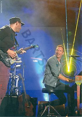 Coldplay / Chris Martin - Clippings From Japanese Magazine Crossbeat 2011