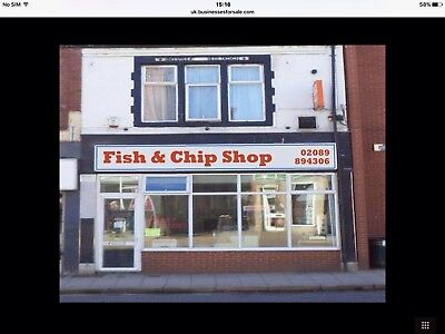 High Street CHIP 🍟  SHOP FOR SALE ONLY £28,000 LEASE £250 Rent A Week
