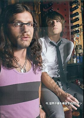 Kings Of Leon - Clippings From Japanese Magazine Rockin'on 2010 - 2011