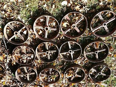 Cast iron wheels for st aitionary engines