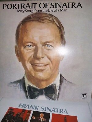 **Frank Sinatra Portrait Forty Songs from the Life of a Man double 2 LP vinyl **