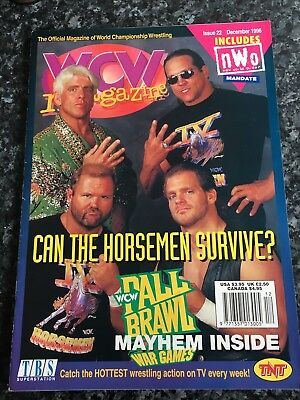 WCW Magazine Issue 22 Dec 1996
