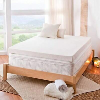 "Spa Sensations 4"" Memory Foam Mattress Topper with Theratouch - Full"