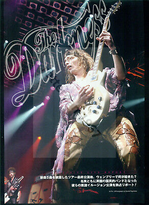 The Darkness / Justin Hawkins - Clippings From Japanese Magazine Burrn! 04-05