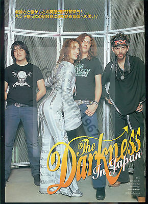 The Darkness / Justin Hawkins - Clippings From Japanese Magazine Burrn! 03-04