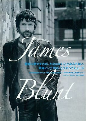 James Blunt - Clippings From Japan Magazine Rockin'on 2007 - 2008