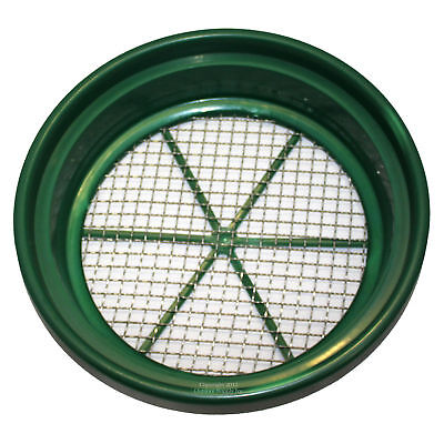 """13"""" Gold Panning 1/2"""" Classifier Screen for Nuggets Sleuce Dredge Mine Sluicing"""