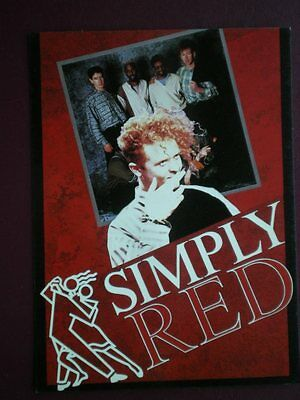 Postcard Musicians Simply Red (2)