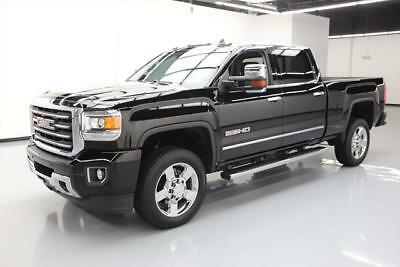 2015 GMC Sierra 2500 SLT Crew Cab Pickup 4-Door 2015 GMC SIERRA 2500 SLT 4X4 DIESEL ALL TERRAIN NAV DVD #509552 Texas Direct