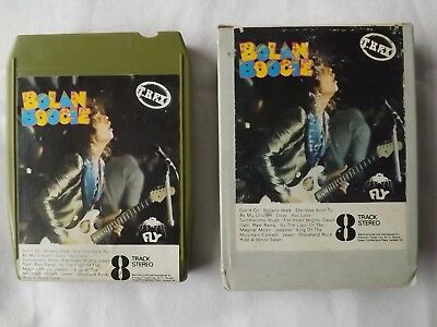 MARC BOLAN T. REX 1970's EIGHT TRACK TAPE BOLAN BOOGIE