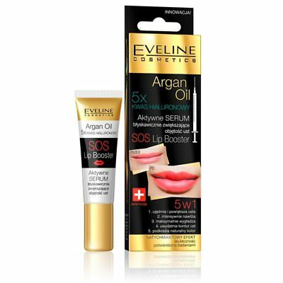 Eveline SOS Lip Booster with Argan Oil 12 ml