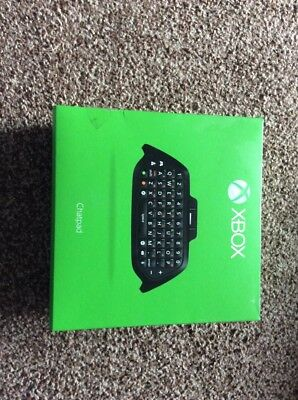Official XBox One black chatpad keypad messenger pad board