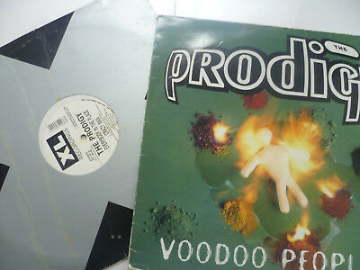 """Prodigy 2 X 12"""" Vinyl Singles Voodoo People /everybody In The Place Breakbeat"""