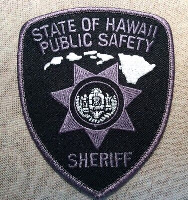 HI State of Hawaii Public Safety Sheriff Patch (Subdued)