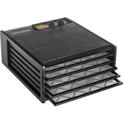 Excalibur Dehydrator 5 Tray with 26-hour Timer - Black