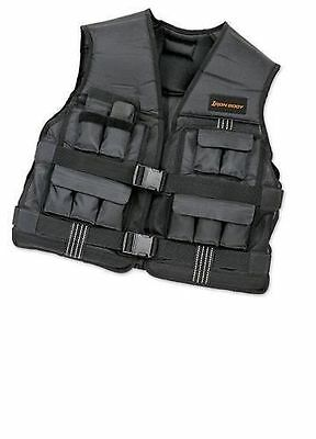 19 kg (42 lb) Weighted Vest One-Size Fit Ultra-Soft Foam Padding