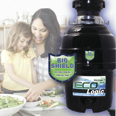 Eco-Logic 9 Deluxe Food Waste Disposer