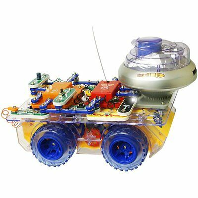 Electronic Snap Circuits Deluxe Snap Robotic Rover - Over 40 experiments