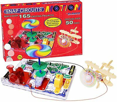 Snap Circuits Motion Kit - over 165 projects to complete