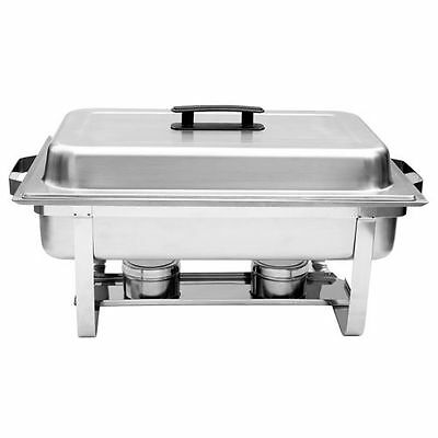 Full-Size Chafing Dish 18/8 Stainless Steel 25 in. x 14 in. x 12 in.