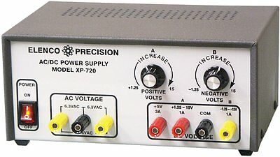 AC/DC Triple Output Power Supply Kit