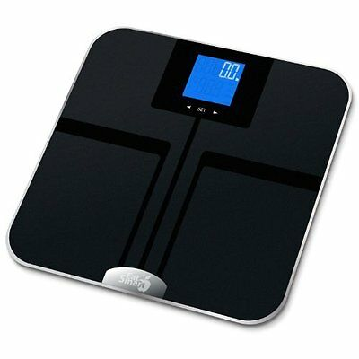 EatSmart Precision GetFit Digital Body Fat Scale with 400-Pound Capacity