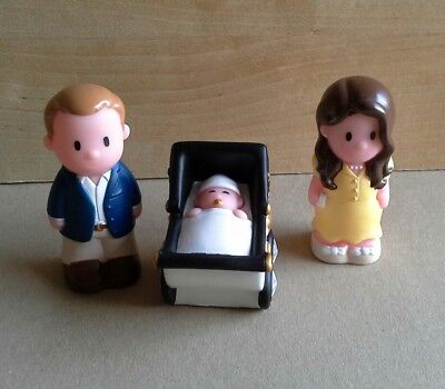 ELC Happyland Special Edition Royal Baby George, William & Kate