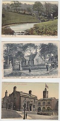 Lancs Burnley  Postcards